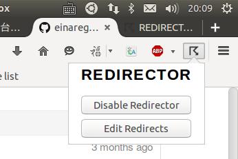 使用Redirector插件解决网站引用文件失效的问题(如googleapis公共库加载的问题) 帮助中心 第2张