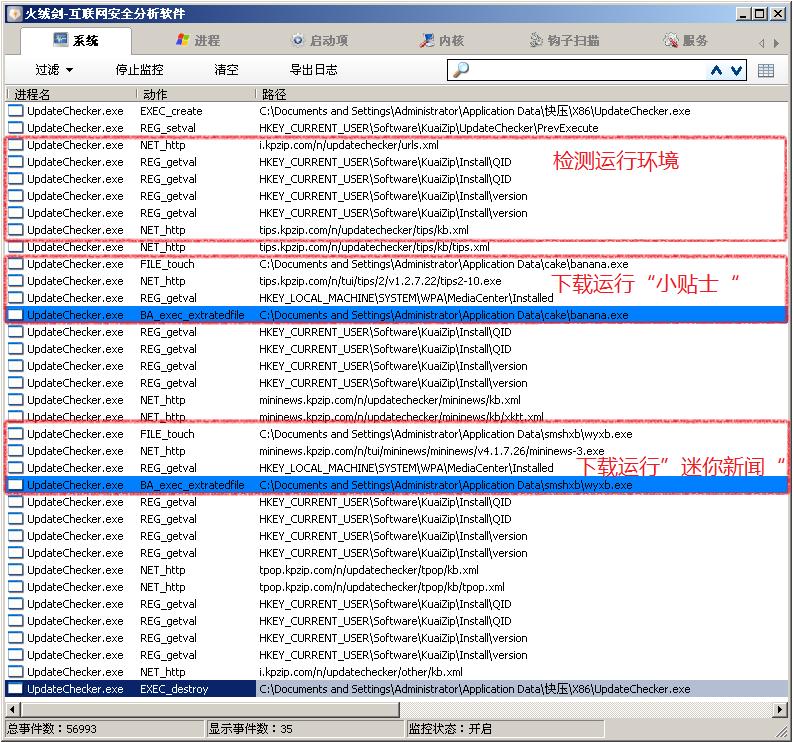 """知名压缩软件""""快压""""传播病毒和多款流氓软件 劫持流量 行业动态 第24张"""